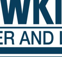 Hawkins Power and Light Sticker