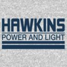 Hawkins Power and Light by zorpzorp