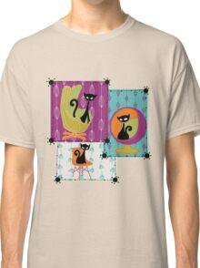60's RETRO MID-CENTURY MODERN CATS Classic T-Shirt