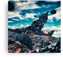 Space structures Canvas Print