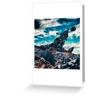 Space structures Greeting Card