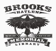 Brooks Memorial Library One Piece - Short Sleeve