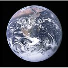 Beautiful Astronomy Image of Earth by Greenbaby