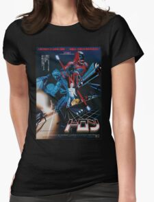 Japanese Tron Poster Womens Fitted T-Shirt