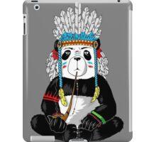 Panda-Indian iPad Case/Skin