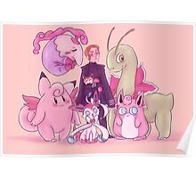 Pink Monsters Poster