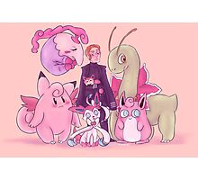 Pink Monsters Photographic Print