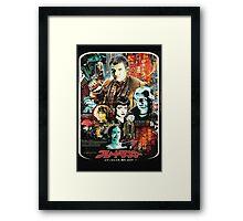 Japanese Blade Runner Poster Framed Print