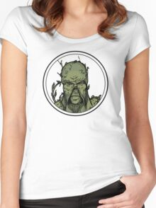 Swamp Thing Women's Fitted Scoop T-Shirt