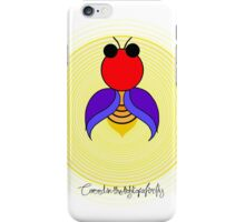 Covered in the light of a firefly iPhone Case/Skin
