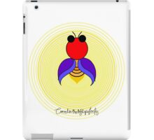 Covered in the light of a firefly iPad Case/Skin