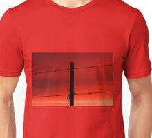 Fire in the sky, can't you see that all my castles are burning Unisex T-Shirt