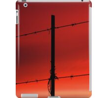 Fire in the sky, can't you see that all my castles are burning iPad Case/Skin