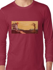Path To The Castle Long Sleeve T-Shirt