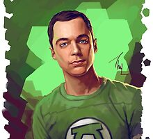 Dr. Sheldon Cooper from Big Bang theory by Thubakabra