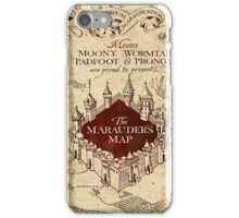 marauders brown iPhone Case/Skin