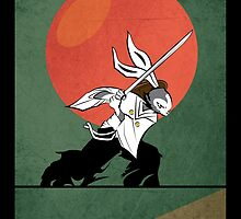 The Last Bugs Bunny Samurai by Tloweart
