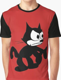 Felix the Cat Fed up Graphic T-Shirt
