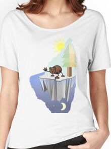 hello skinny bear Women's Relaxed Fit T-Shirt
