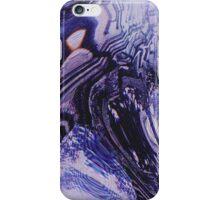 Purple Glitch iPhone Case/Skin
