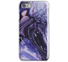 Purple Glitch iPhone Case/Skin
