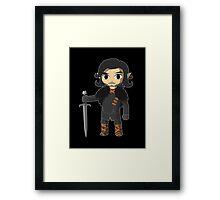 The Legend of Castle Black  Framed Print