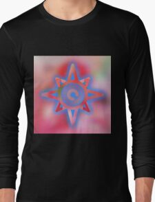Cool,amazing,abstract,star,symbol,contemporary art,modern Long Sleeve T-Shirt