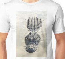American Alligator floating in water Unisex T-Shirt