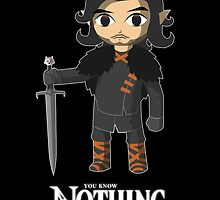 The Legend Knows Nothing... by MrLunarbeam