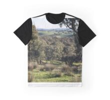 A Valley from Strathewan road Victoria Australia 20160613 7122 Graphic T-Shirt