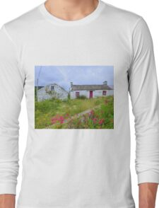 The Summer Blooms Of Rural Ireland Long Sleeve T-Shirt