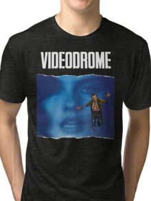 Videodrome Poster Tri-blend T-Shirt