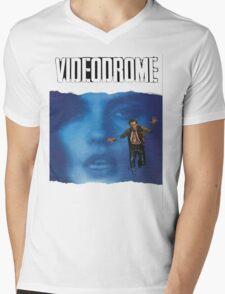Videodrome Poster Mens V-Neck T-Shirt
