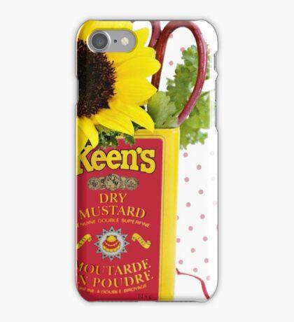 Mustard Yellows iPhone Case/Skin