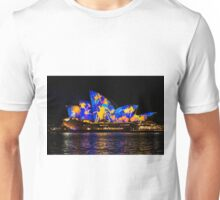 Sydney Vivid 4 Colour Splash 1 Unisex T-Shirt