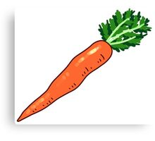 Carrot Canvas Print