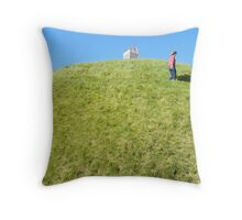 High on a Hill Throw Pillow