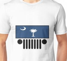 Jeep South Carolina Flag Unisex T-Shirt