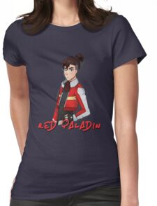 Voltron Keith – Red Paladin Womens Fitted T-Shirt