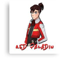 Voltron Keith – Red Paladin Canvas Print
