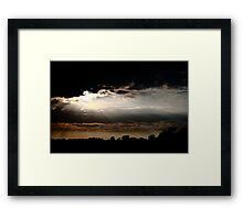 Wingrave Sunset Framed Print