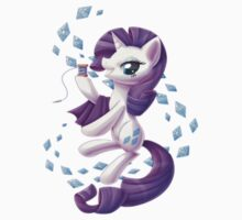 Rarity Sticker by Rachel Fillier