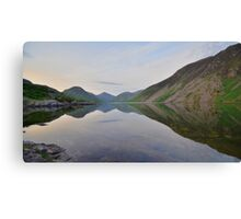 The Lake District: Wastwater Refelctions Canvas Print