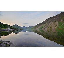 The Lake District: Wastwater Refelctions Photographic Print