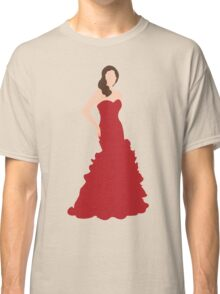Beauty in a Red Dress Classic T-Shirt