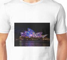 Sydney Vivid 6 Dot Art 1 Unisex T-Shirt