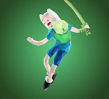 Yut! Finn the Human and the grass sword | Adventure Time by abowersock
