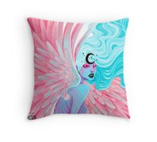 Faye, Angel of Corruption Throw Pillow