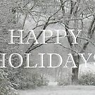 """Happy Holidays""... prints and products by © Bob Hall"