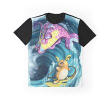 Pokemon - Surf's Up! Graphic T-Shirt